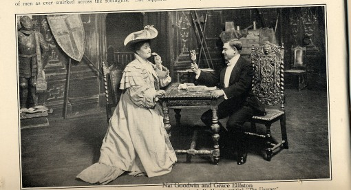 NC Goodwin and Grace Elliston in Usurper