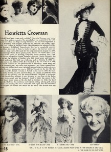 hENRIETTA cROSSMAN